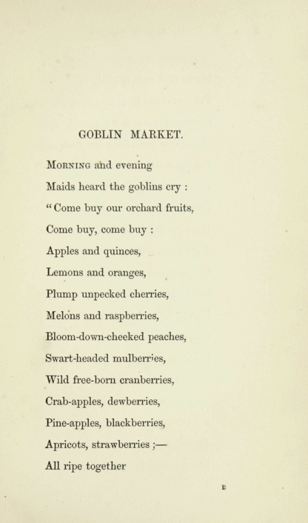 christina rossetti u2019s verses and goblin market and other