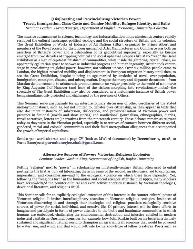 MVSA 2019 Seminar CFP page 2