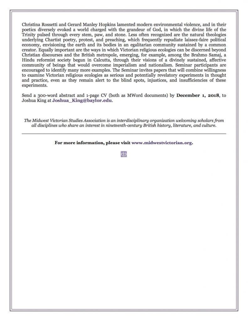 MVSA 2019 Seminar CFP page 3