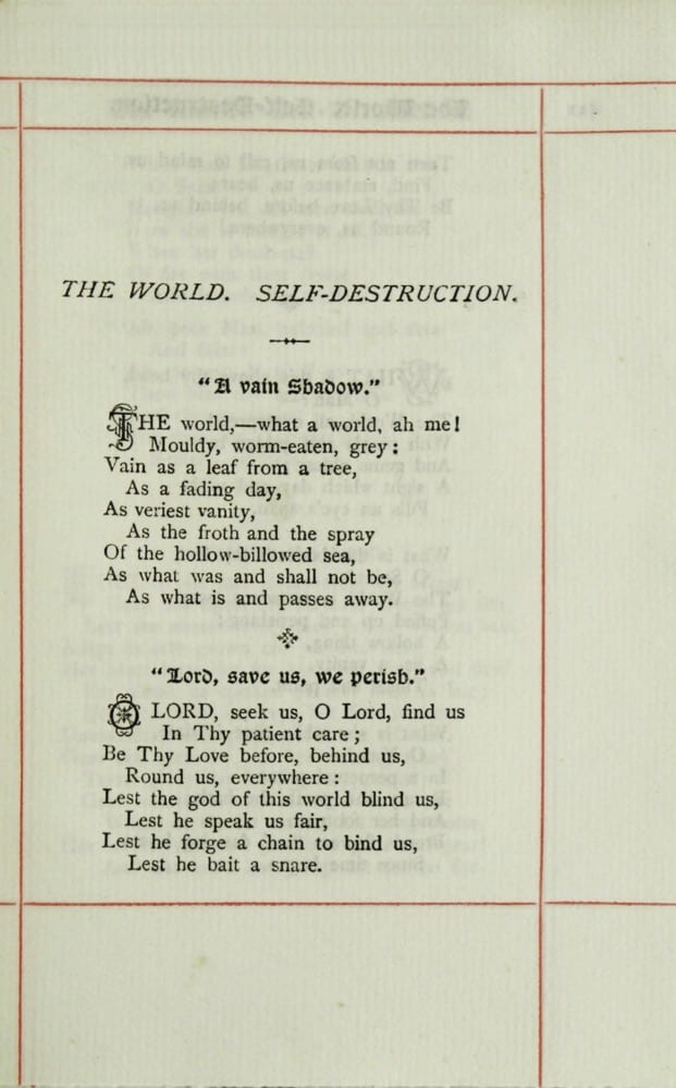 Page of poetry