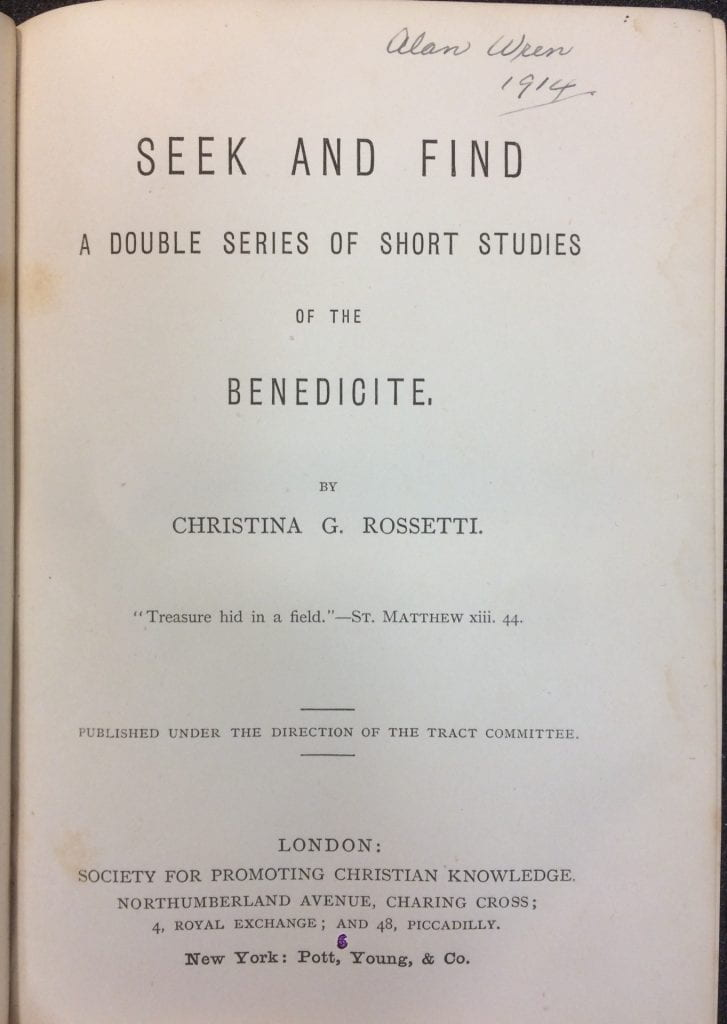 Seek and Find title page image