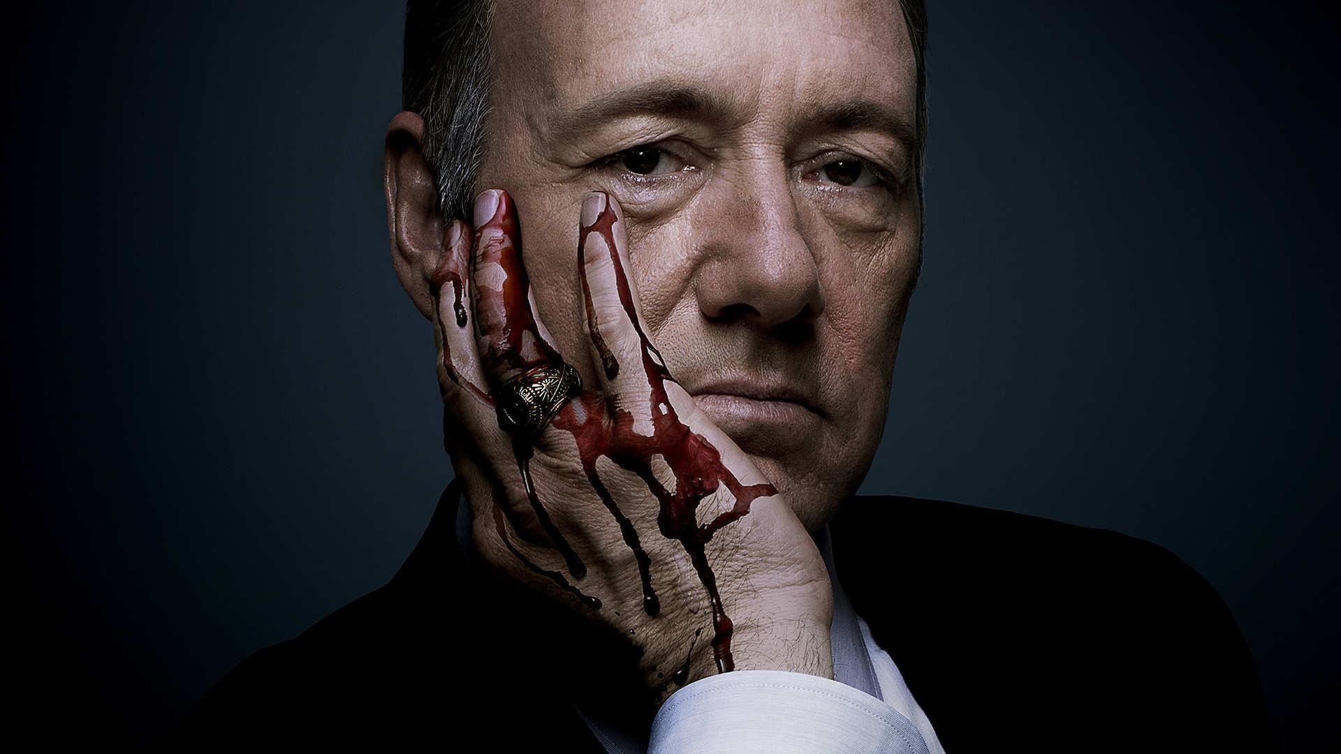 Frank Underwood Blood Hands