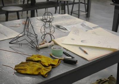 Fine Arts Sculpture Lab