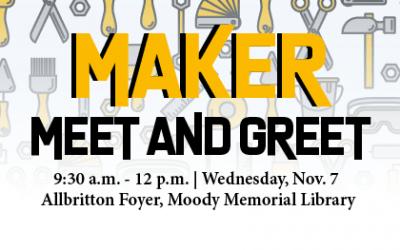 Maker Meet and Greet