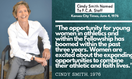 A Conversation With Cindy Smith, A Pioneer in Sports Ministry for Women
