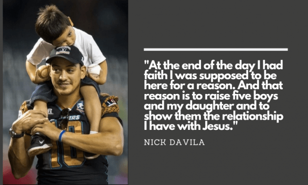 Nick Davila on Faith, Family, and Life after Football