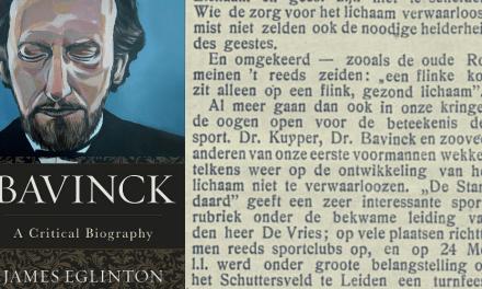 Reforming Sports: Herman Bavinck on 'Sportmania'
