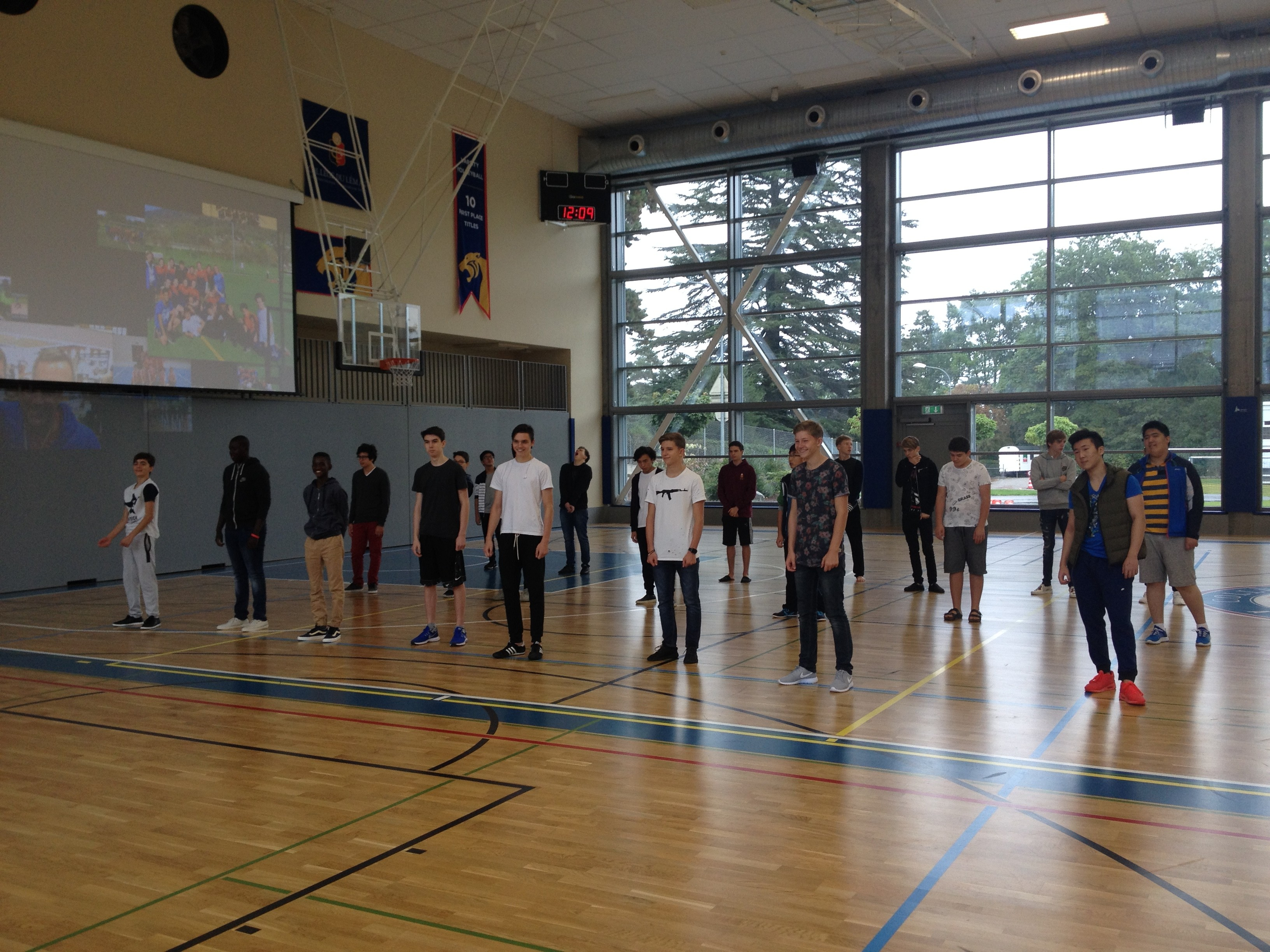 Rehearsing for the House competition
