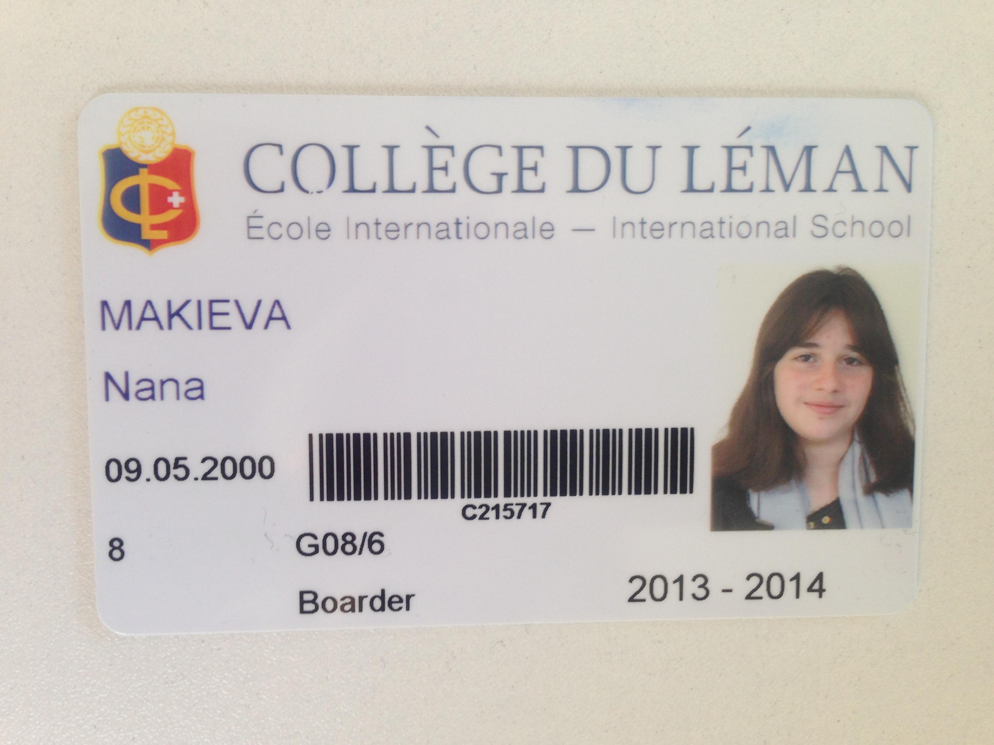 New Student in Old Portena