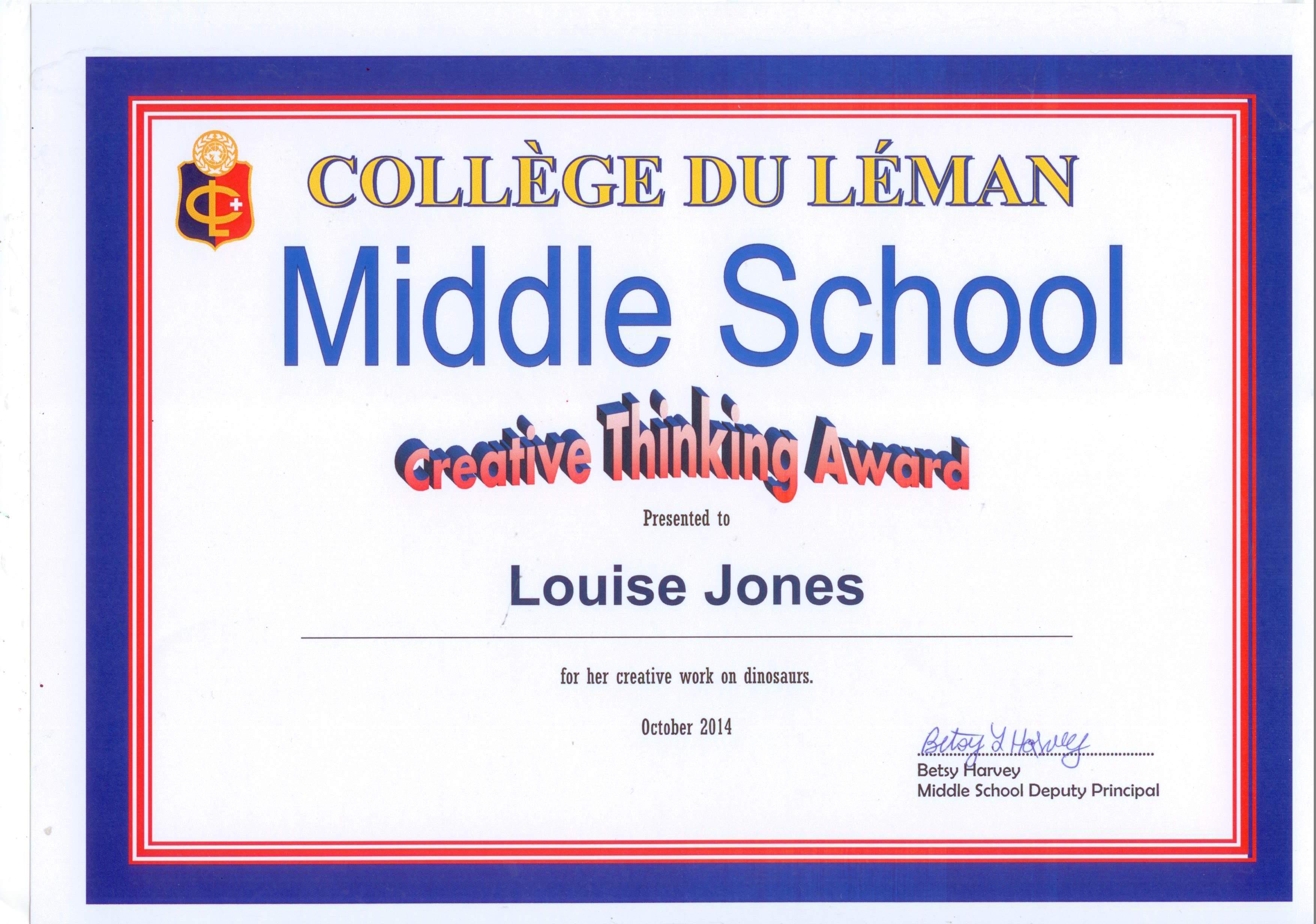Louise Award