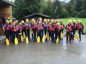 Rafting group photo !
