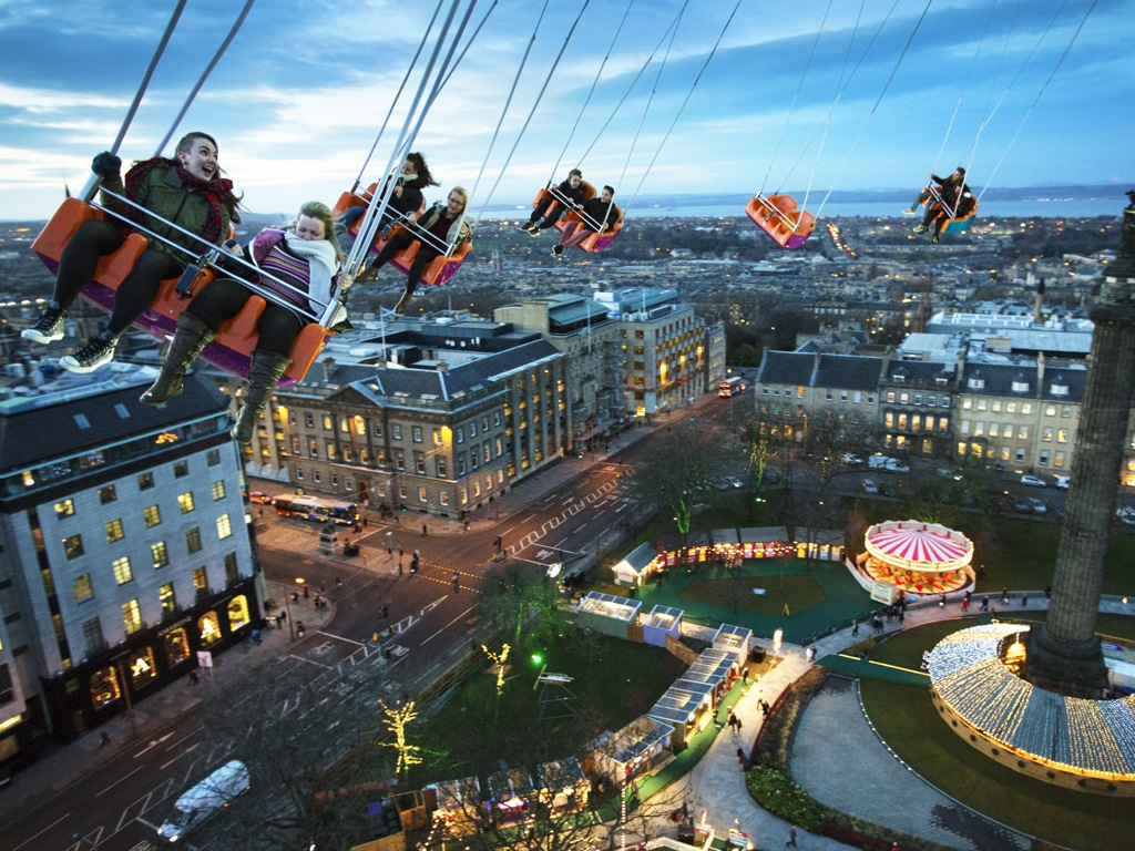 Star Flyer ride Edinburgh