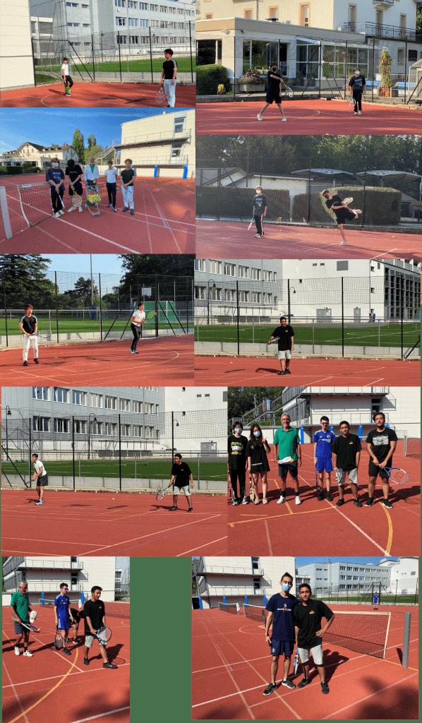 tennis tennis court