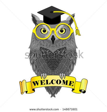 stock-vector-oxford-owl-welcome-back-to-school-teacher-professor-academic-146671601