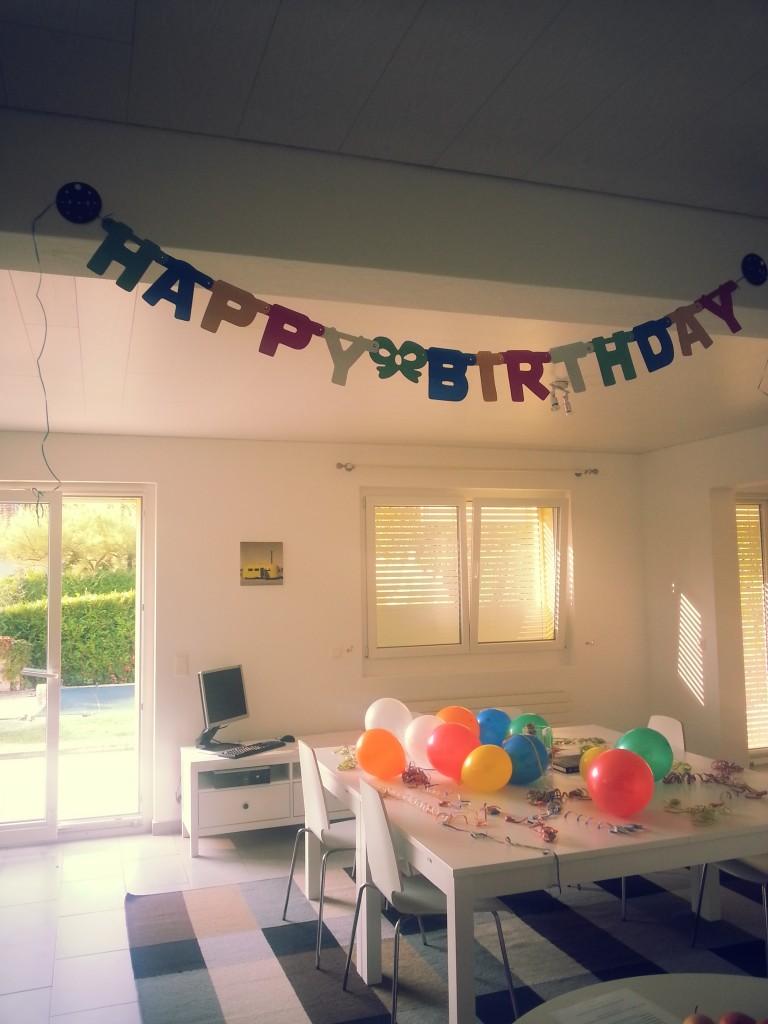 Birthday decoration!