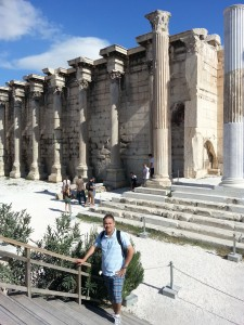 I felt inside of History. What a great experience. Thanks Greece.