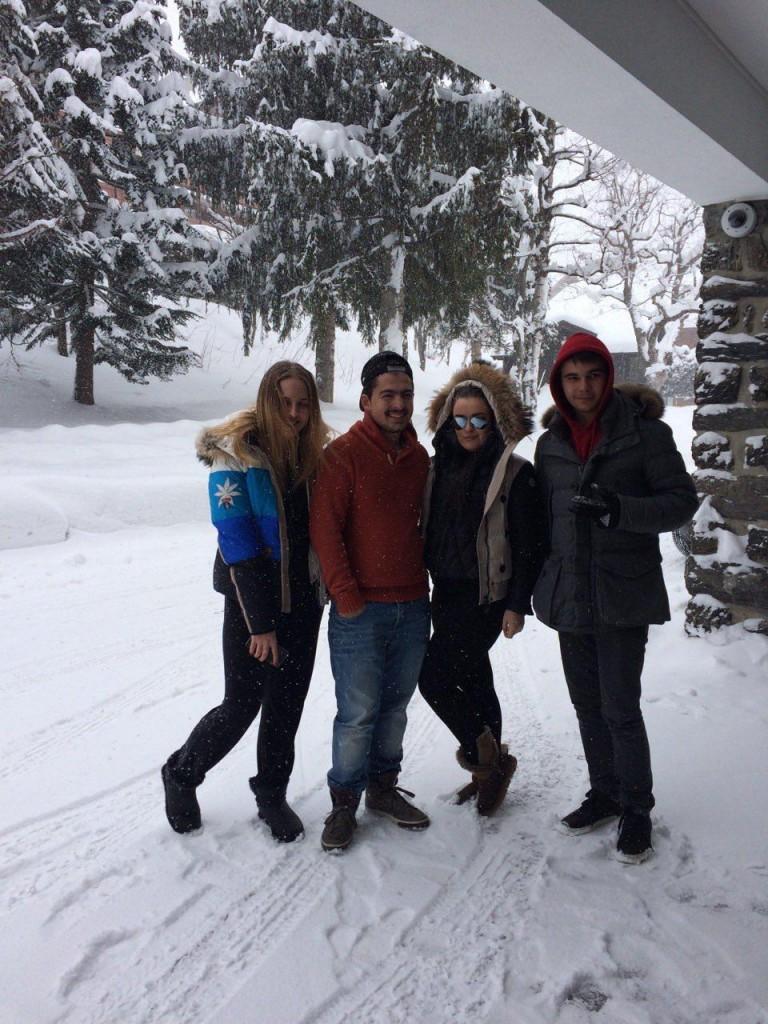 Ali, Seva & the girls!