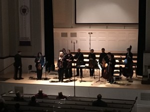 The Chamber Orchestra takes their bows to immense applause