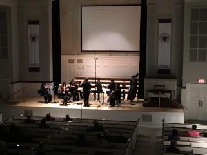 The final piece performed was Antonín Dvořák's Serenade for Strings