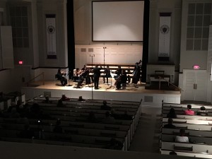 The Chamber Orchestra performed W. A. Mozart's Fuges K405, Nos. 1, 2, 3, & 5