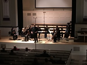They also performed Peter Warlock's Capriol Suite