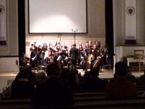 The Choir also performed No. 6 i thank You God from Ronald Perera's earthsongs