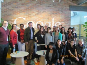 BUS213 Students visit Google Pittsburgh