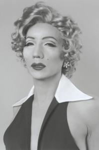 "Yasumasa Morimura's ""Self Portrait (B/W)- After Marilyn Monroe,"" 1996"