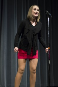 "Photo Credit: Kitoko Chargois Gretchen Geibel performing ""My Short Skirt"""