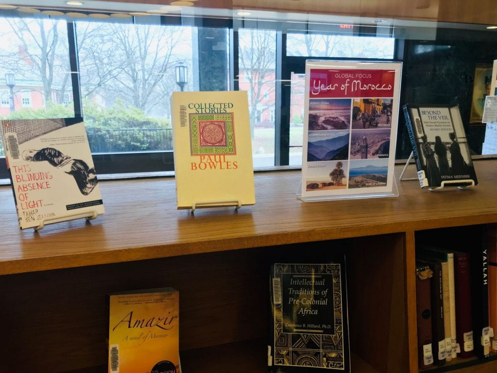 Year of Morocco Book Display