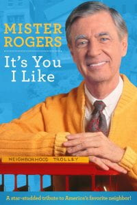 Film poster for Mister Rogers It's You I Like