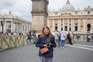 Meg Scanlon summer 2016 Italy