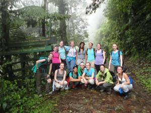 Kayla Clem summer 2014 Costa Rica study abroad