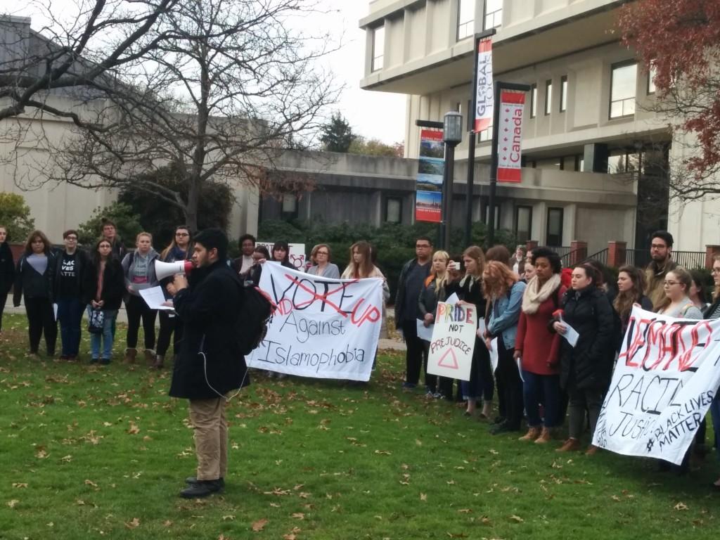 Chatham Students' Walkout on November 2016