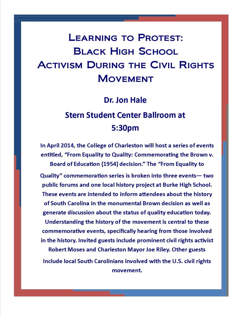 Black High School Activism