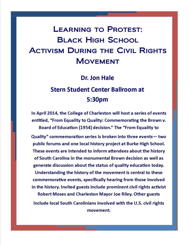 Black High School Activism