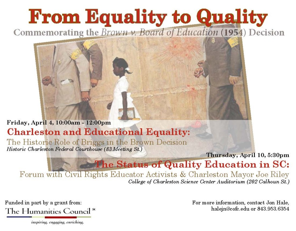 From Equality to Quality flyer