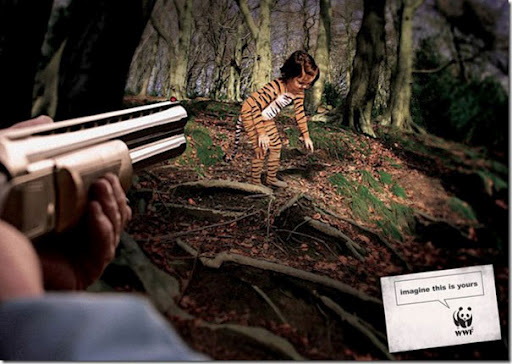 rhetoric analysis of wwf tiger ad From thought-provoking fish campaigns to mirrored moment ads, these wwf campaigns are allowing the general public to stats for 20 striking wwf campaigns.