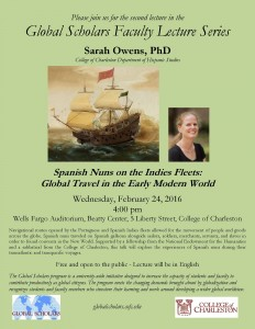 Global Scholars lecture Owens 2 24 16 flyer