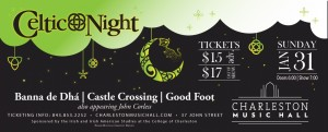 2nd Annual Celtic Night at the Music Hall