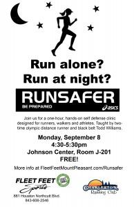 RunSafer CofC flyer