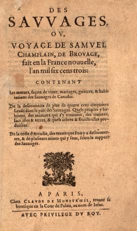 samuel de champlain first voyage