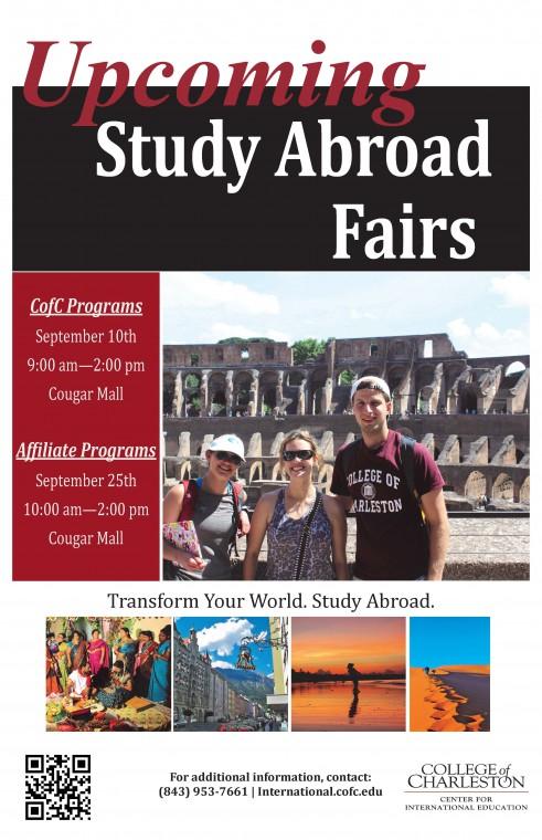 2015 Study Abroad Fair Flyer
