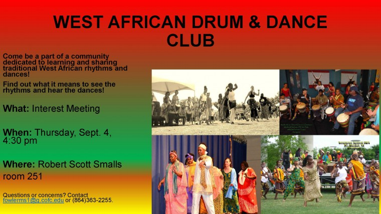 WEST AFRICAN DRUM  DANCE CLUB