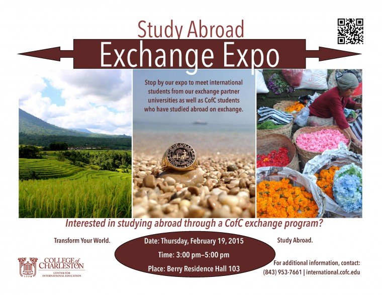 Exchange Expo Poster SP15