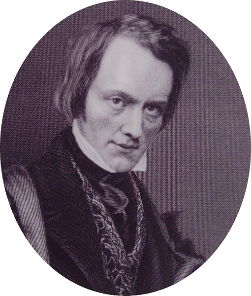 The up-and-coming anatomist Richard Owen. Image from WikimediaCommons.