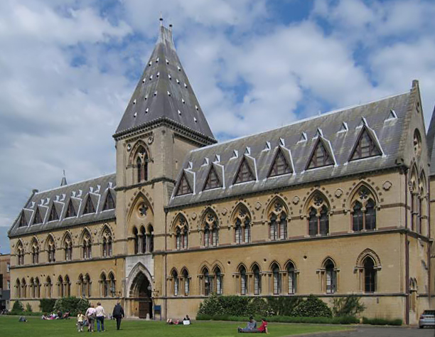 The Oxford University Museum of Natural History, where the great debate took place. Image from WikimediaCommons.