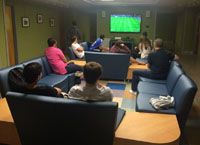 FIFA tournament at Berry Residence Hall.