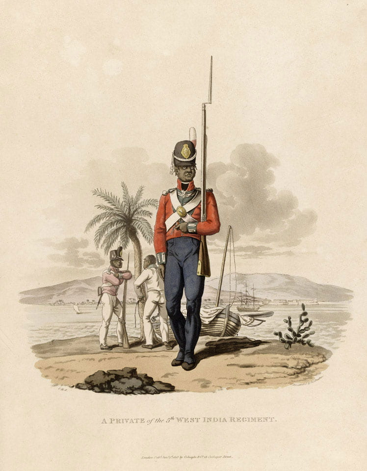 A Private in the West India Regiment