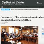 Screenshot of op-ed in online Post & Courier